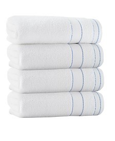 Enchante Home Monroe 4-Pc. Bath Towels Turkish Cotton Towel Set