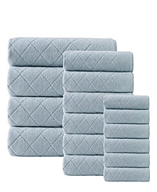 Enchante Home Gracious 16-Pc. Turkish Cotton Towel Set