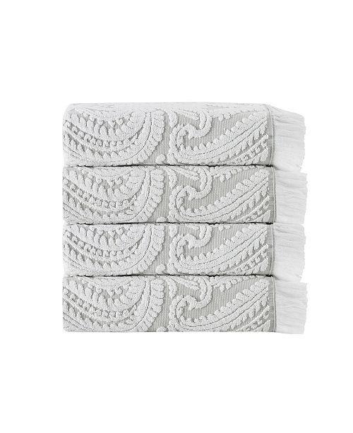 Enchante Home Laina 4-Pc.Turkish Cotton Bath Towel Set