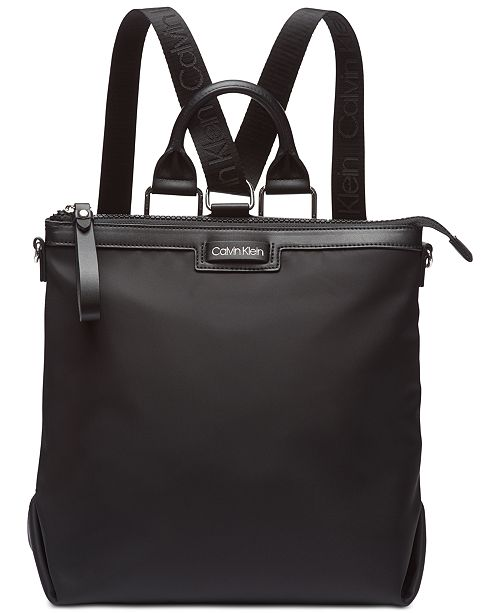 Calvin Klein Calvn Klein Lane Backpack Logo Crossbody