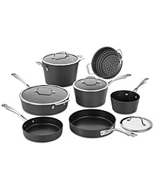 Contour Hard-Anodized Nonstick 13-Pc. Cookware Set