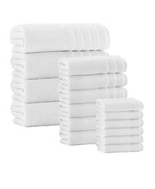 Veta 16-Pc. Turkish Cotton Towel Set
