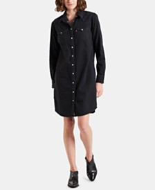 Levi's® Cotton Ultimate Western Dress