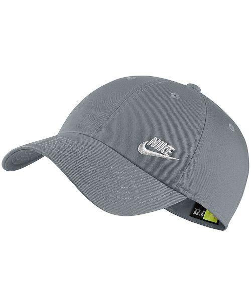 03041cb584ce8c Nike Sportswear Cotton Heritage 86 Futura Cap & Reviews - Women's ...