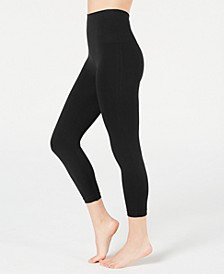 Women's Cropped Printed Seamless Leggings