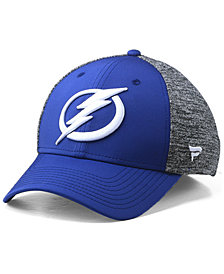 Authentic NHL Headwear Tampa Bay Lightning Heathered Team Flex Stretch Fitted Cap