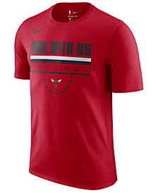 Nike Men's Chicago Bulls Team Verbiage T-Shirt