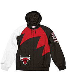 Mitchell & Ness Men's Chicago Bulls Shark Tooth Jacket