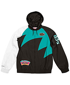 Mitchell & Ness Men's San Antonio Spurs Shark Tooth Jacket