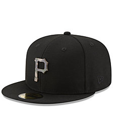 New Era Pittsburgh Pirates Camo Capped 59FIFTY-FITTED Cap