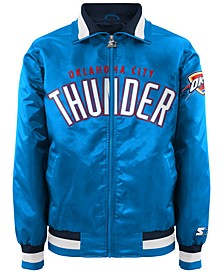 Men's Oklahoma City Thunder Starter Captain II Satin Jacket