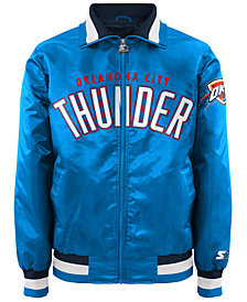 G-III Sports Men's Oklahoma City Thunder Starter Captain II Satin Jacket