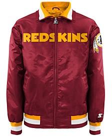 Men's Washington Redskins Starter Captain II Satin Jacket