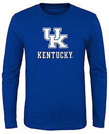 Outerstuff Kentucky Wildcats Primary Logo Long Sleeve T-Shirt, Little Boys (4-7)