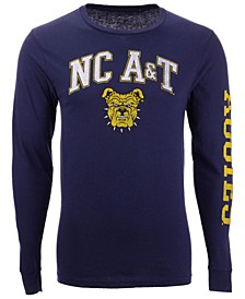 Men's North Carolina A&T Aggies Midsize Slogan Long Sleeve T-Shirt