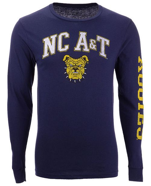 Colosseum Men's North Carolina A&T Aggies Midsize Slogan Long Sleeve T-Shirt