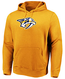 Majestic Men's Nashville Predators Ice Logo Hoodie
