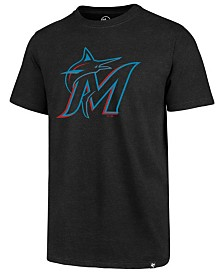 '47 Brand Men's Miami Marlins Club Logo T-Shirt