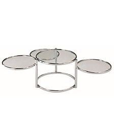 New Spec Motion Round 3 Tier Coffee Table