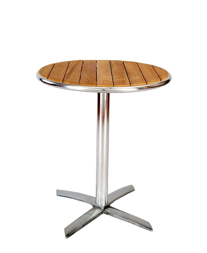 New Spec Inc Outdoor Round Dining Table