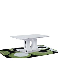 Graffy Modern Marble Faux Dining Table