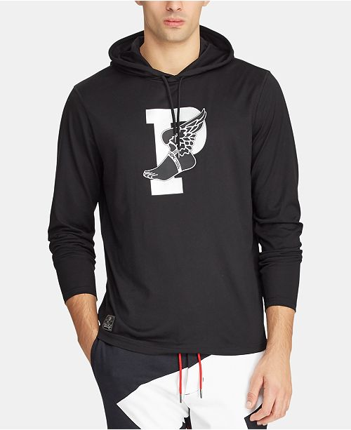 Polo Ralph Lauren Men's P-Wing Hooded Long-Sleeve T-Shirt, Created for Macy's
