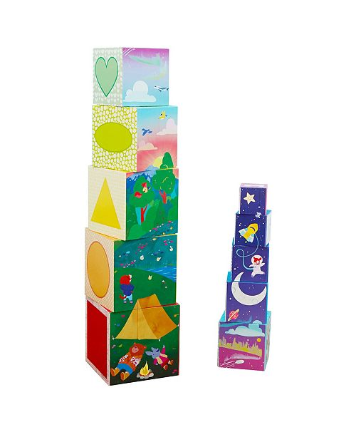 Learning Resources Educational Insights Bright Basics Nest and Stack Cubes