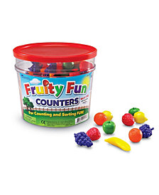 Learning Resources Fruity Fun Counters Set-108-Pc