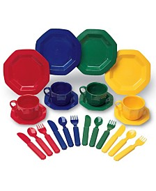 Learning Resources Play Dishes 24 Piece Set Standard Packaging