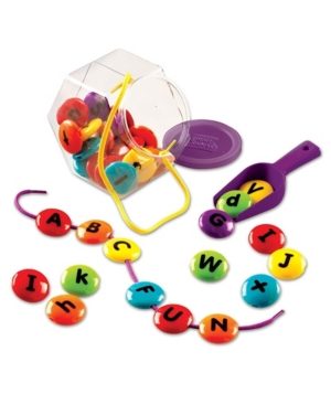 Learning Resources Abc Lacing Sweets Set