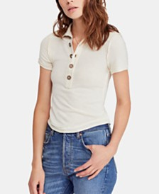 Free People Poppy Polo