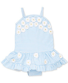 Little Me Baby Girls Daisy Swimsuit