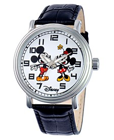 Disney Mickey and Minnie Mouse Men's Alloy Vintage Watch