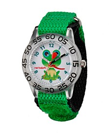 Red Balloon Boys' Plastic Time Teacher Watch