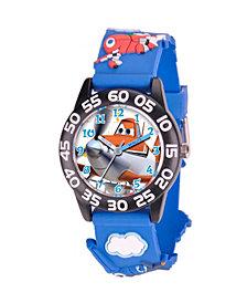 Disney Planes Boys' 3D Plastic Time Teacher Watch