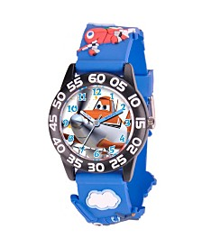 Disney Planes Boys' 3D Plastic Time Teacher Watch