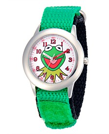 Disney Kermit Boys' Stainless Steel Time Teacher Watch