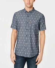 Levi's® Men's Slim-Fit Leaf Print Pocket Shirt
