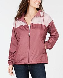 Columbia Fleece-Lined Windbreaker Jacket