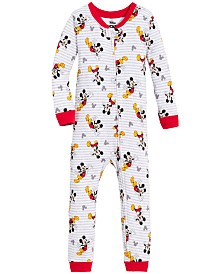 Mickey Mouse Toddler Boys Mickey Mouse Cotton Pajamas