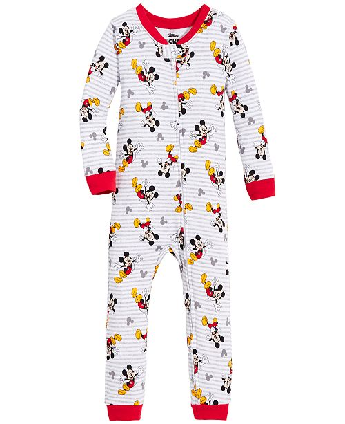 AME Mickey Mouse Toddler Boys Mickey Mouse Cotton Pajamas