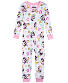 AME Toddler Girls Minnie Mouse Cotton Pajamas
