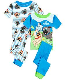Disney Toddler Boys 4-Pc. Puppy Dog Pals Cotton Pajama Set