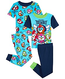 Nickelodeon Toddler Boys 4-Pc. Top Wing Cotton Pajama Set
