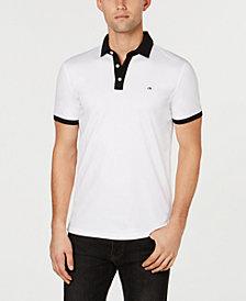 Calvin Klein Men's Jacquard Contrast Polo