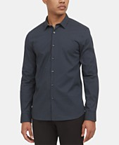 b21aba3caf65 Kenneth Cole New York Men's Dot-Print Shirt