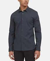 b21aba3caf65 Kenneth Cole New York Men's Dot-Print Shirt