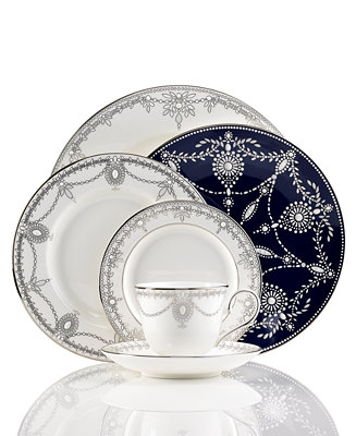 Marchesa by Lenox Dinnerware, Empire Pearl Collection ...