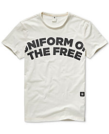 G-Star RAW Men's Uniform Of The Free Graphic T-Shirt