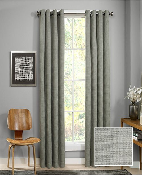 Eclipse Palisade Blackout Grommet 52X95 Window Curtain Panel